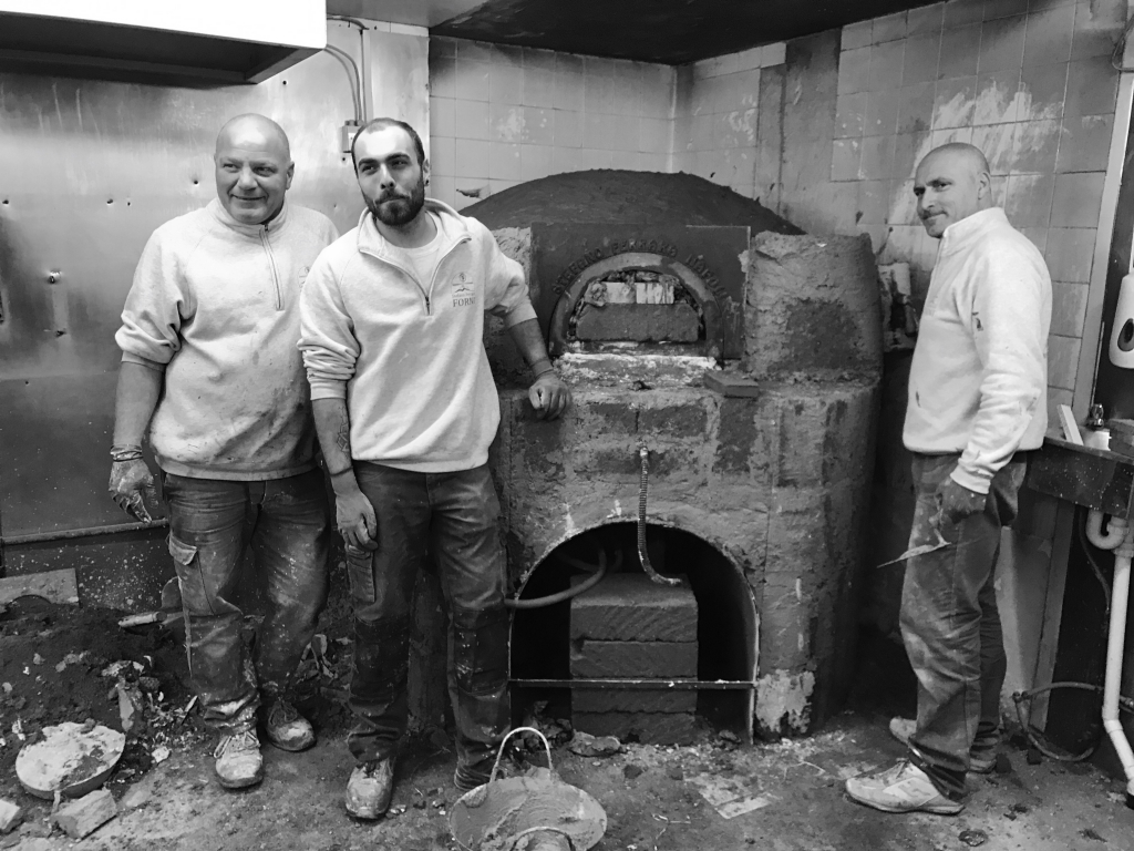 oven building team